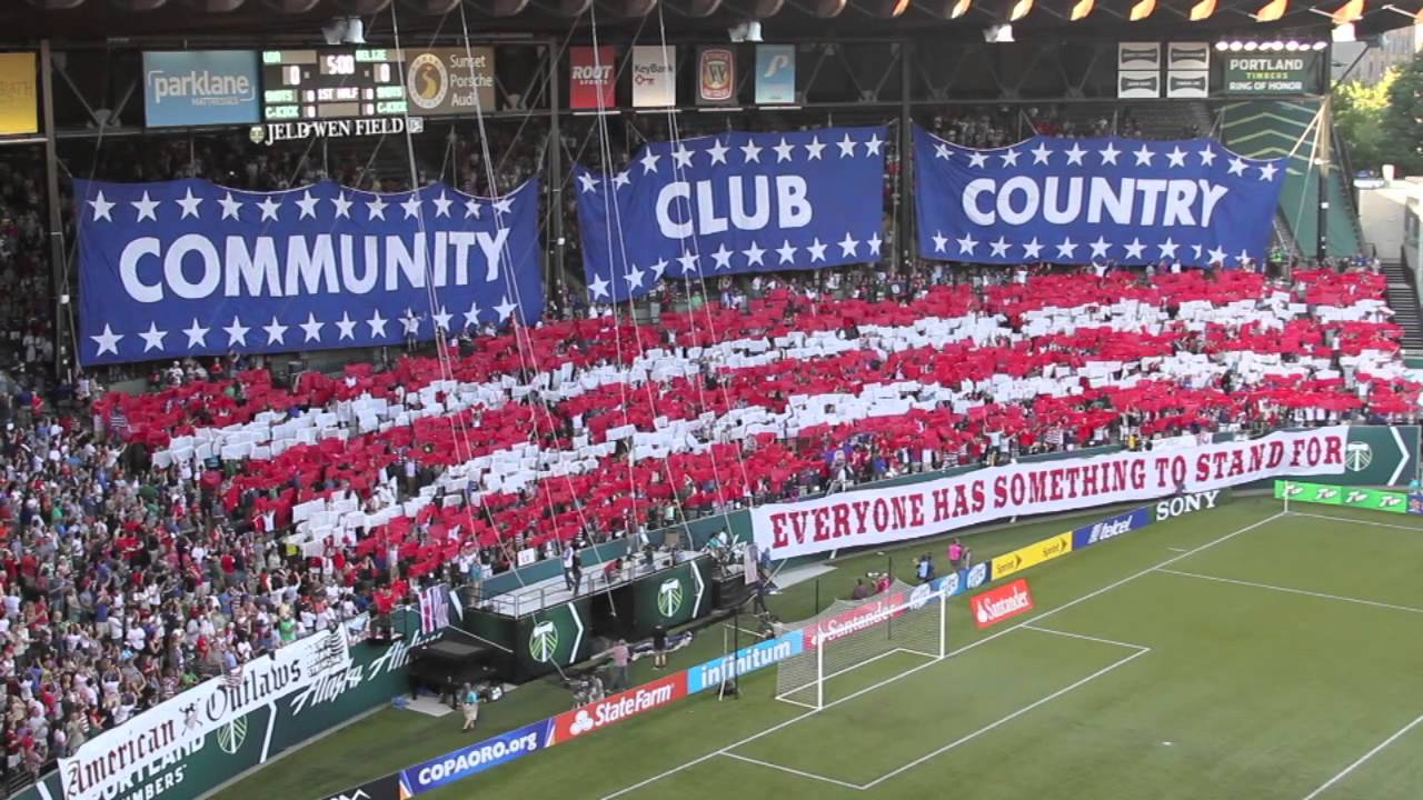 American Outlaws--Community, Club and Country Tifos in Portland