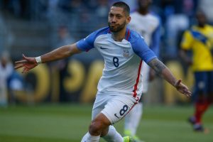 Texas native, Clint Dempsey leads the Yanks into Houston.