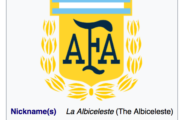 The Albiceleste