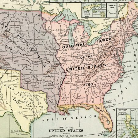 Historic USA Map
