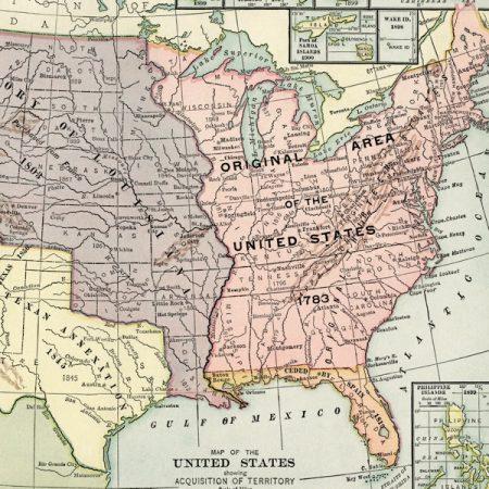 Historic USA Map