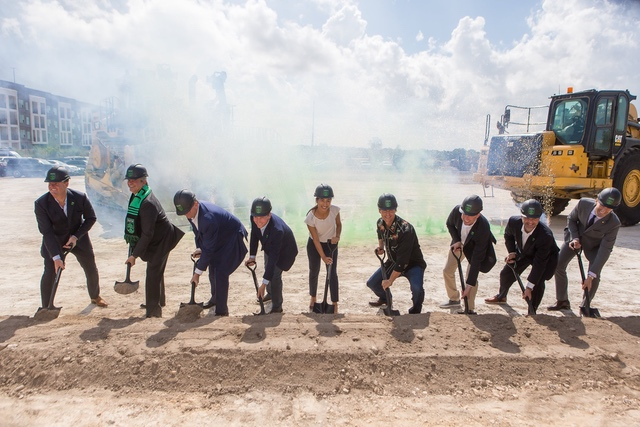 Austin FC Stadium Groundbreaking