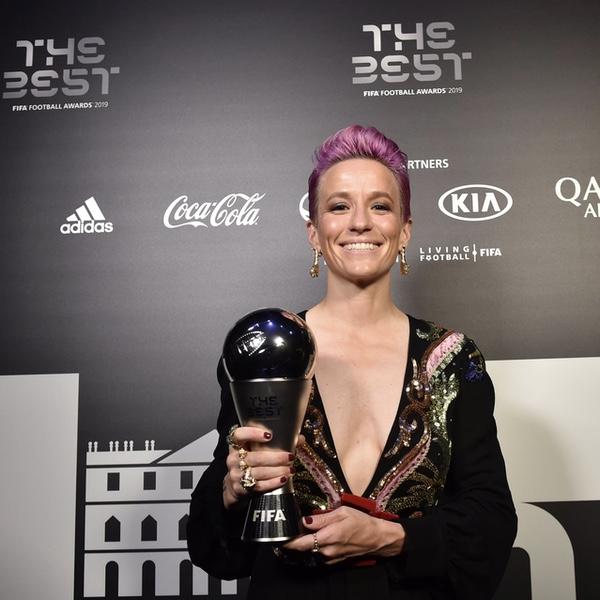 Megan Rapinoe named footballer of the year
