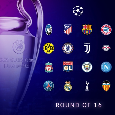 UEFA Champions League Round of 16