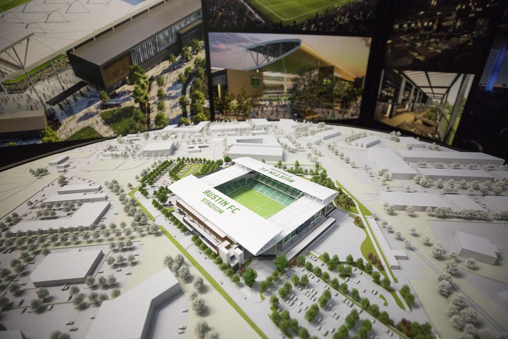 Austin FC stadium model