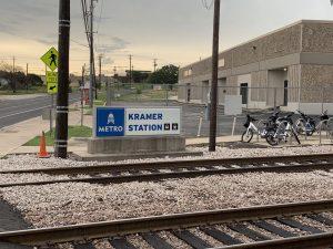 Kramer Station MetroRail stop
